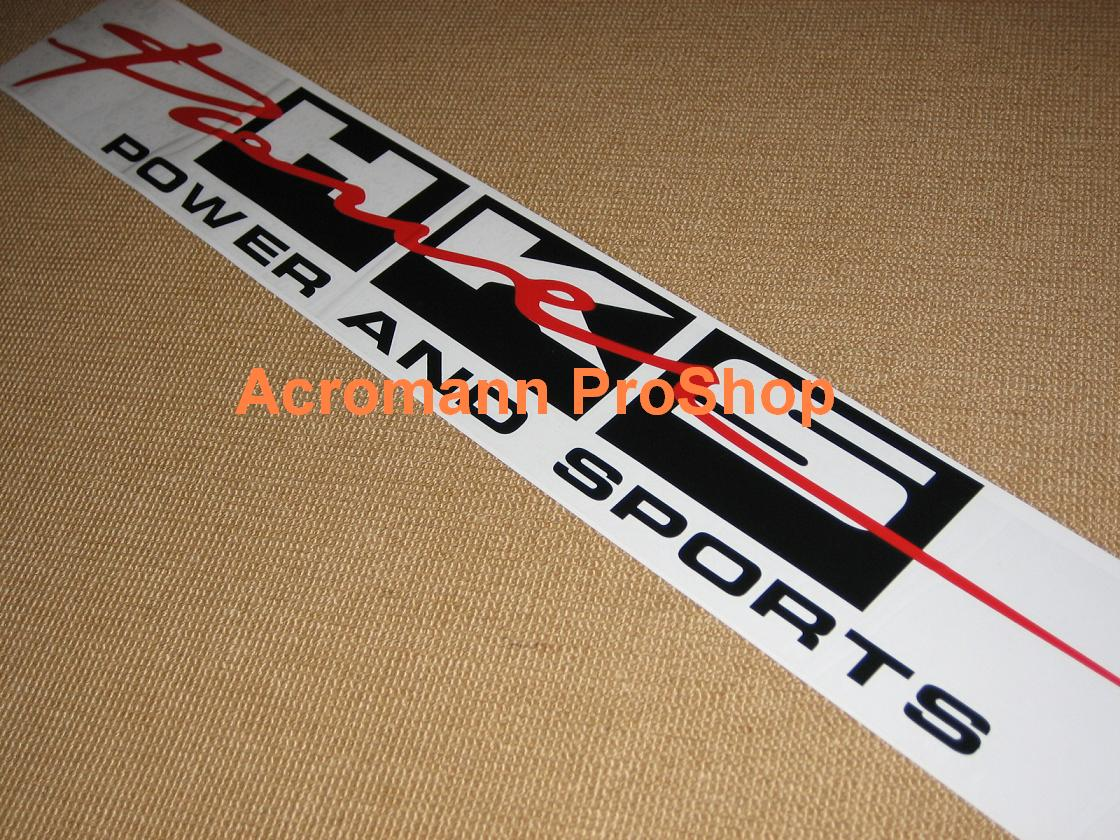 HKS Power Windshield Decal (Style#5)